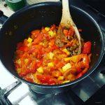 Tomat, Peberfrugt og Squash Salsa