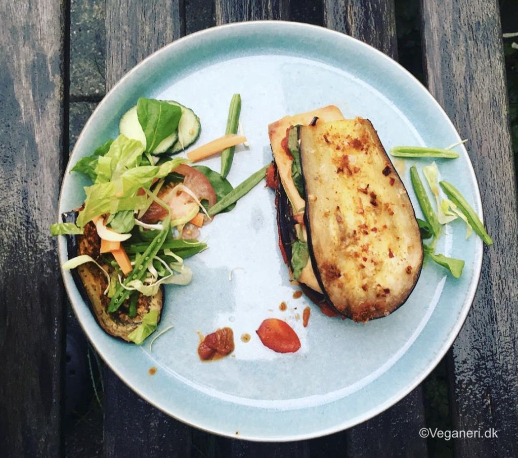 Middelhavssandwich uden brød